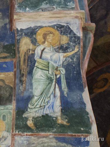 Архангел Гавриил в сцене Благовещения