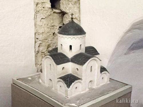 Спасо-Преображенский собор. Музейная реконструкция первоначального вида