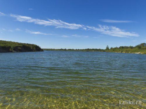 Озеро рядом с храмом Ильи Пророка