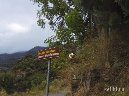 Монастырь св. Пантелеймона вблизи деревни Фоделе