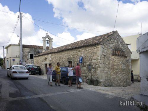 Церковь св. Иоанна Предтечи в деревне Маргаритес