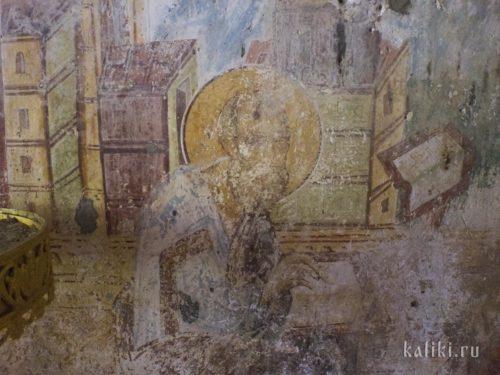 Евангелист. Фреска церкви Иоанна Богослова в Киссосе