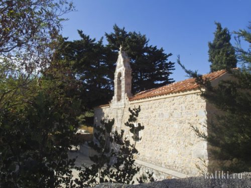 Церковь Богородицы Панагии в деревне Киссос