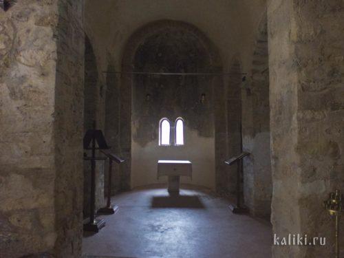 Внутри церкви св. Евтихия