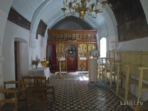 Внутри церкви св. Иоанна Предтечи