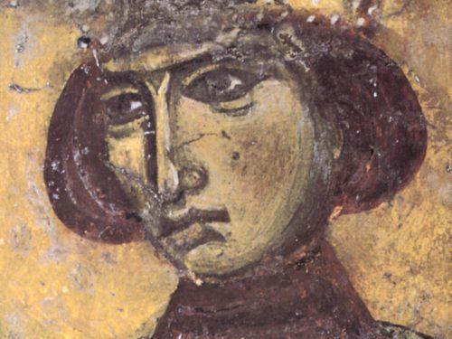 Св. Елена. Фреска церкви Христа Спасителя в Спили