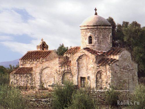 Церковь св. Георгия в Каламас