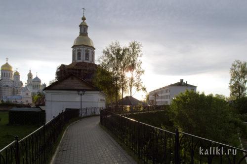 Вид со Святой Канавки на Благовещенский собор
