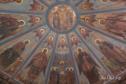 """""""Небеса"""" церкви св. Иоанна Златоуста. Фрагмент"""