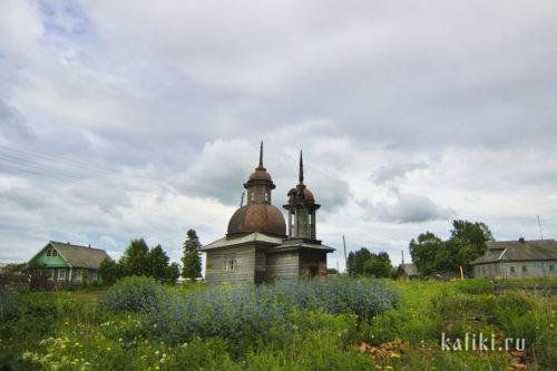 Ильинская часовня в деревне Слобода