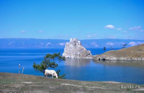 озеро Байкал, остров Ольхон, мыс Бурхан