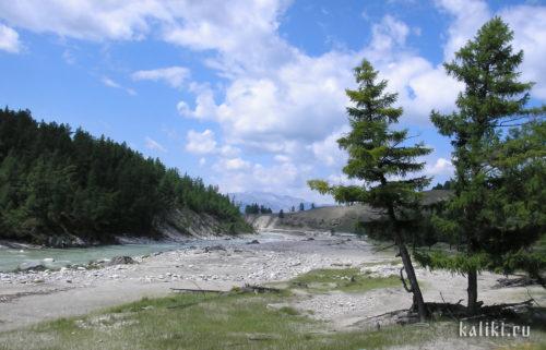 Саянские горы, река Иркут