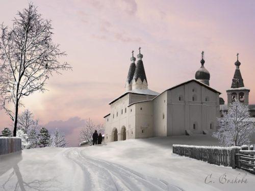 Видевше свет вечерний: У ворот Ферапонтова монастыря