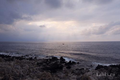 Побережье Эгейского моря в окрестностях Ретимно