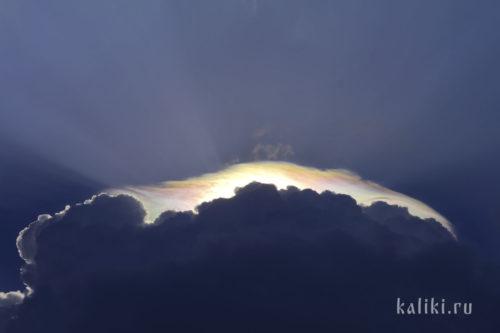 небо, облака, солнечные лучи