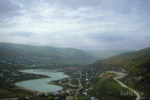 Вид на с. Ширяево с Поповой горы