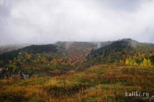 Осенние краски Жигулевских гор