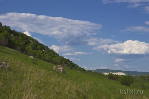 Облака над Жигулевскими горами
