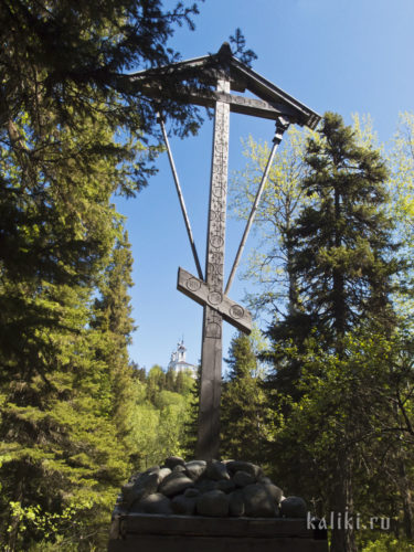 Поклонный крест в честь Новомучеников Соловецких
