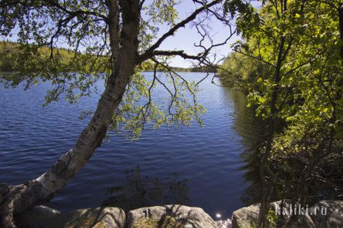 Святое озеро около Свято-Троицкого скита