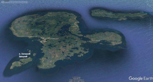 Большой Заяцкий остров Соловецкого архипелага