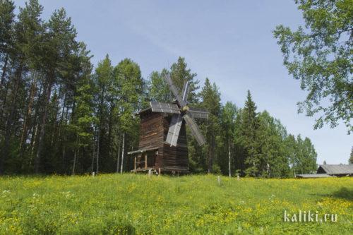 Ветряная мельница, конец XIX в.