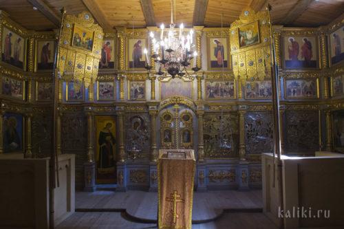 Интерьер церкви Вознесения Господня