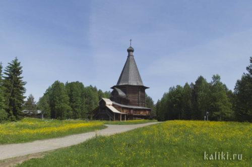 Церковь во имя св. Георгия, 1672 год