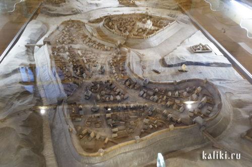 Макет реконструкции древнего Суздаля