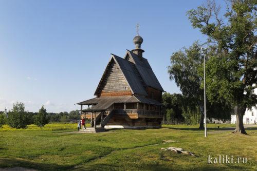 Никольская церковь. Западная сторона