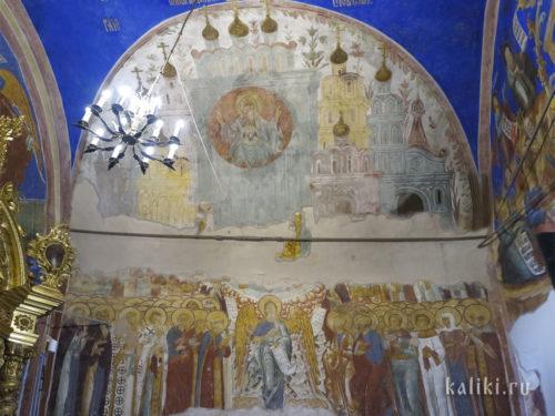 Фрески Богородице-Рождественского собора. Фрагмент 2