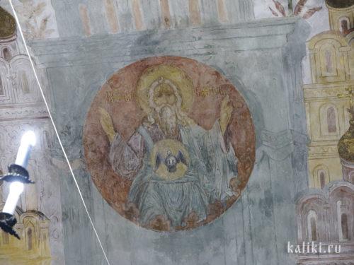 Фрески Богородице-Рождественского собора. Фрагмент 3