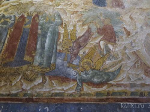 Фрески Богородице-Рождественского собора. Фрагмент 7