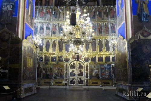 Иконостас Богородице-Рождественского собора