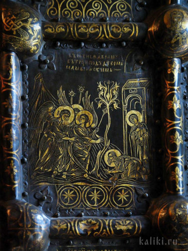 Южные Златые врата. Фрагмент. Явление Троицы Аврааму