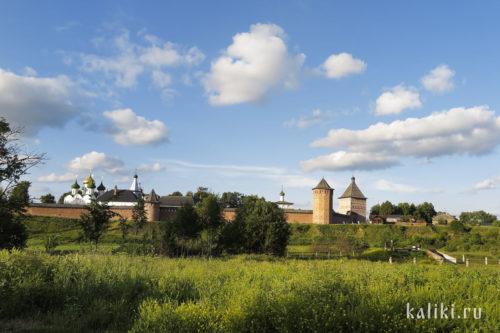 Спасо-Евфимиев монастырь. Южная сторона