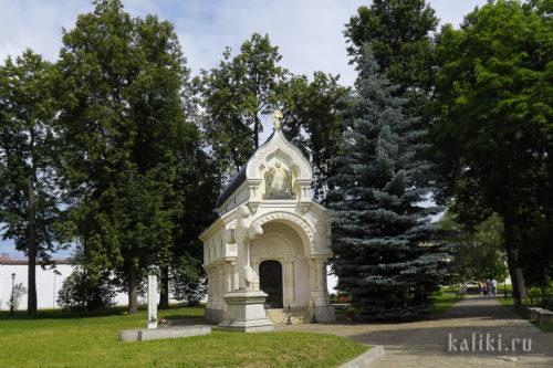 Восстановленный памятник-часовня Д. М. Пожарского