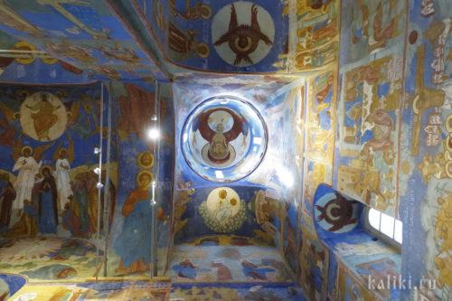 Фрески Спасо-Преображенского собора. Фрагмент 5