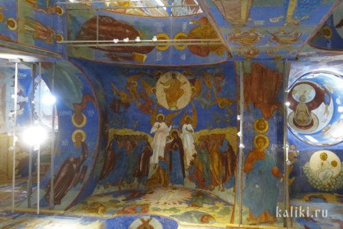 Фрески Спасо-Преображенского собора. Фрагмент 6