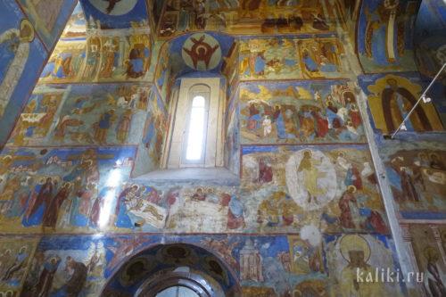 Фрески Спасо-Преображенского собора. Фрагмент 3