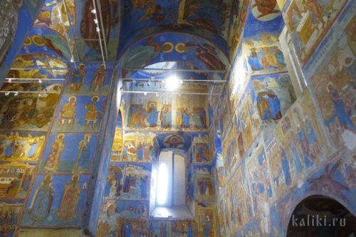 Фрески Спасо-Преображенского собора. Фрагмент 4