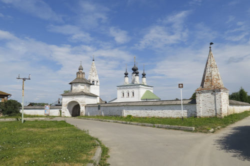 Ограда со Святыми воротами (XVIII в.)