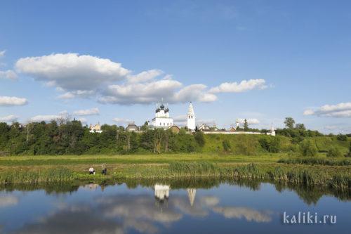 Вид на Свято-Александровский монастырь со стороны Покровского монастыря