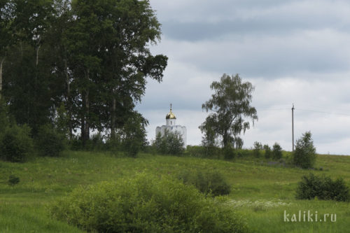 Часовня Бориса и Глеба на кладбище села Кидекша