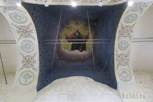 Роспись свода храма. Нач. XX в.