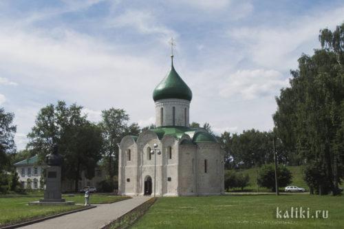 Спасо-Преображенский собор в Переславле-Залесском. Примерно так первоначально выглядел Борисоглебский храм в Кидекше