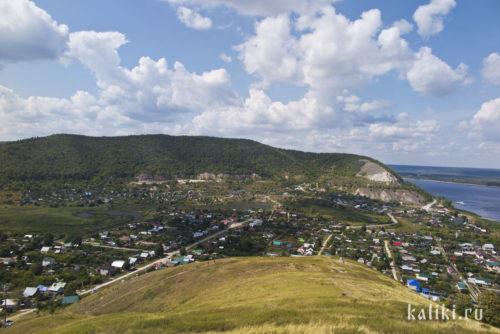 Вид на Попову гору с Монастырской горы