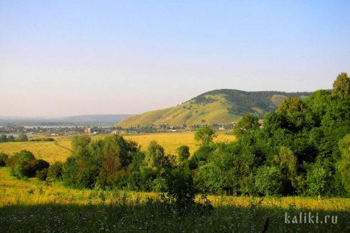 Вид на Монастырскую гору с южной стороны
