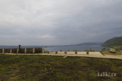 Смотровая площадка в Ширяево