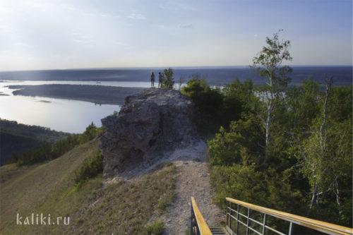 Природная смотровая площадка на горе Стрельной